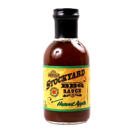American Stockyard Harvest Apple BBQ Sauce  350 ml